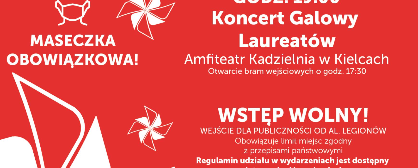 Koncert Galowy Laureatów 2021